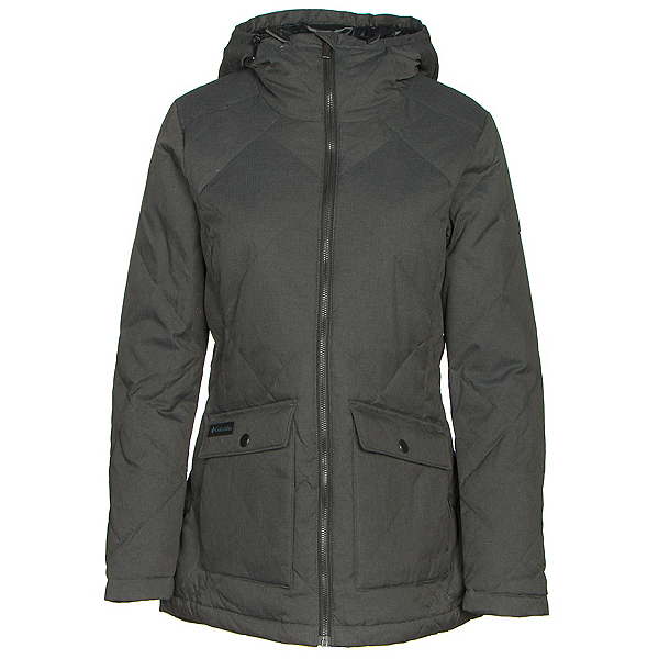 Columbia Crescent Cliff Down Womens Jacket, Black, 600