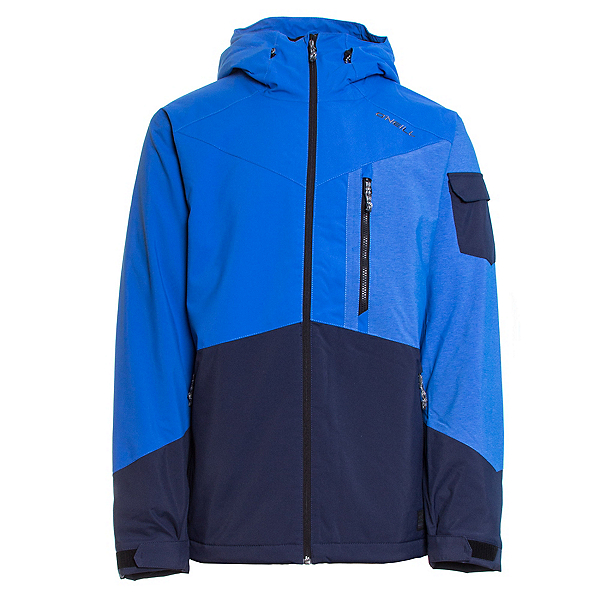 O'Neill Cue Mens Insulated Snowboard Jacket, Victoria Blue, 600