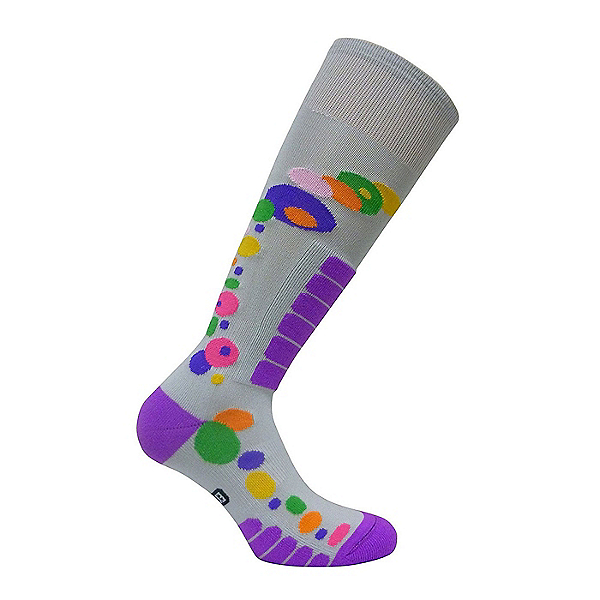 Euro Sock Ski Free Style Silver Womens Ski Socks, Silver, 600