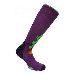Euro Sock Snowdrop Womens Ski Socks, , 256
