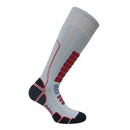 Euro Sock Board Shredder Silver Snowboard Socks, Silver, 256