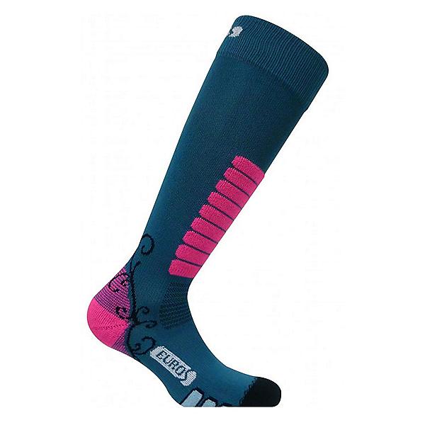 Euro Sock Sweet Silver Womens Ski Socks, , 600