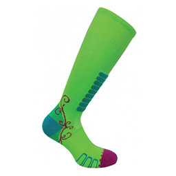 Euro Sock Sweet Silver Womens Ski Socks, Acid, 256