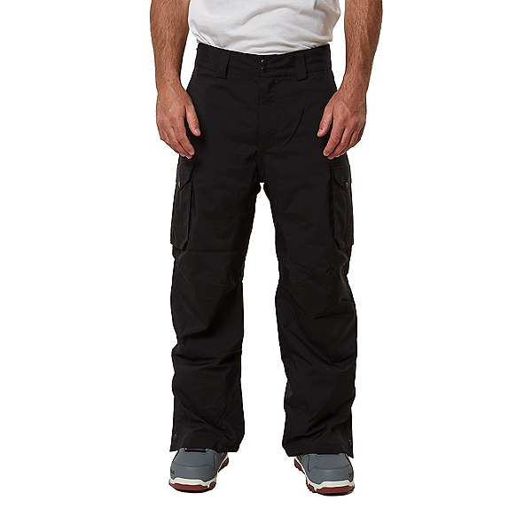 O'Neill Exalt Mens Snowboard Pants, Black Out, 600