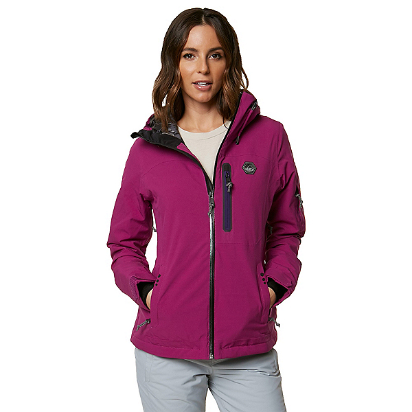 O'Neill Kenai Womens Insulated Snowboard Jacket, , 600