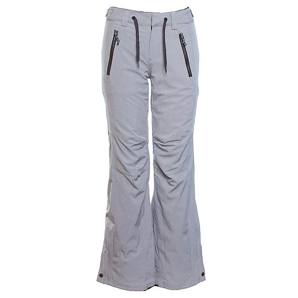 O'Neill Streamlined Womens Snowboard Pants, Silver Melee, 600