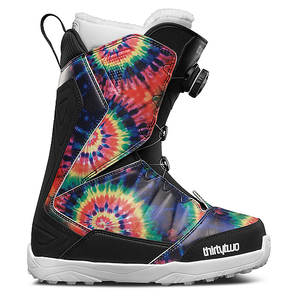 ThirtyTwo Lashed Boa Womens Snowboard Boots, Tie Dye, 600