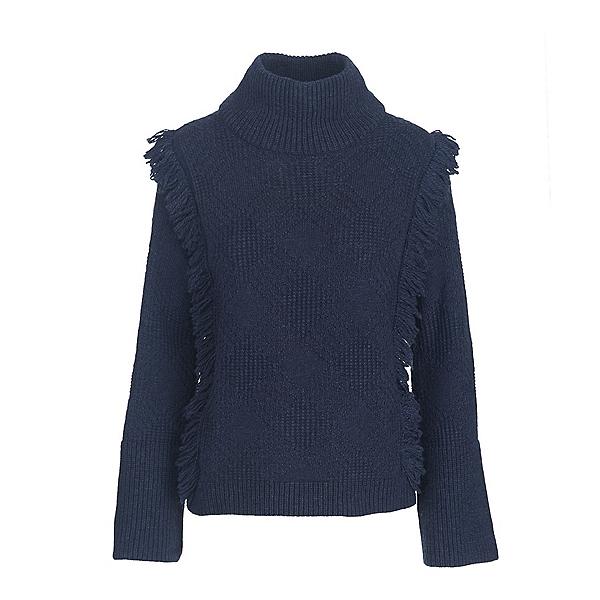 Woolrich Cardinal Peak Fringe Turtleneck Womens Sweater, , 600