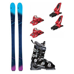 Fischer My Mountain 84 Speedmachine 85 Womens Ski Package 2018, , 256