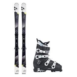 Fischer XTR Pro MTN 77 RT Cruzar 70 XTR TS Womens Ski Package 2018, , 256