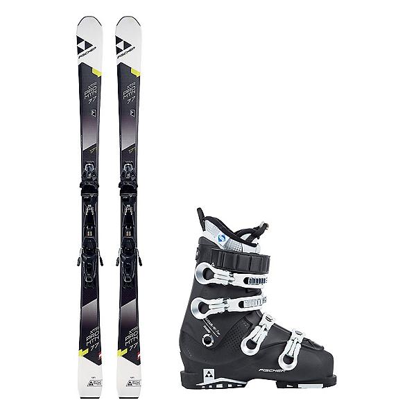 Fischer XTR Pro MTN 77 RT Cruzar 70 XTR TS Womens Ski Package, , 600