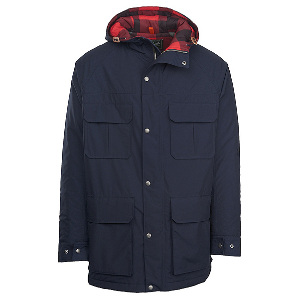Woolrich Advisory Wool Parka Mens Jacket, Deep Navy, 600