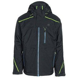 Double Diamond Stealth Mens Insulated Ski Jacket, Black, 256
