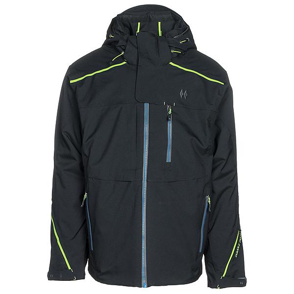Double Diamond Stealth Mens Insulated Ski Jacket, Black, 600