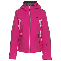 Double Diamond Wisp Womens Insulated Ski Jacket, Bright Pink, 256