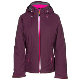 Double Diamond Daze Womens Insulated Ski Jacket, Plum, 256