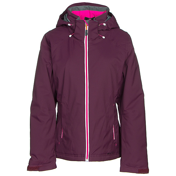 Double Diamond Daze Womens Insulated Ski Jacket, Plum, 600