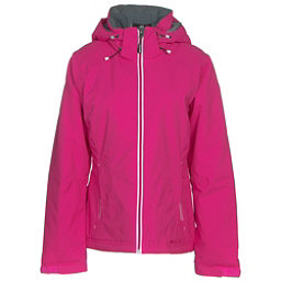 Double Diamond Daze Womens Insulated Ski Jacket, Bright Pink, 256