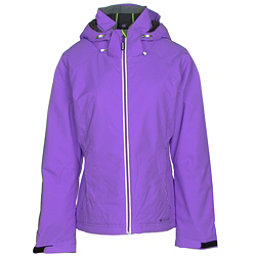 Double Diamond Daze Womens Insulated Ski Jacket, Grape, 256