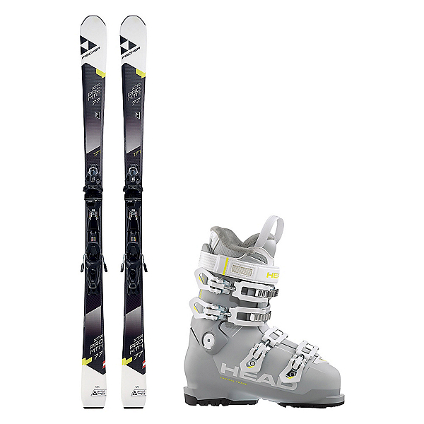 Fischer XTR Pro MTN 77 RT Advant Edge 75 HT Womens Ski Package, , 600
