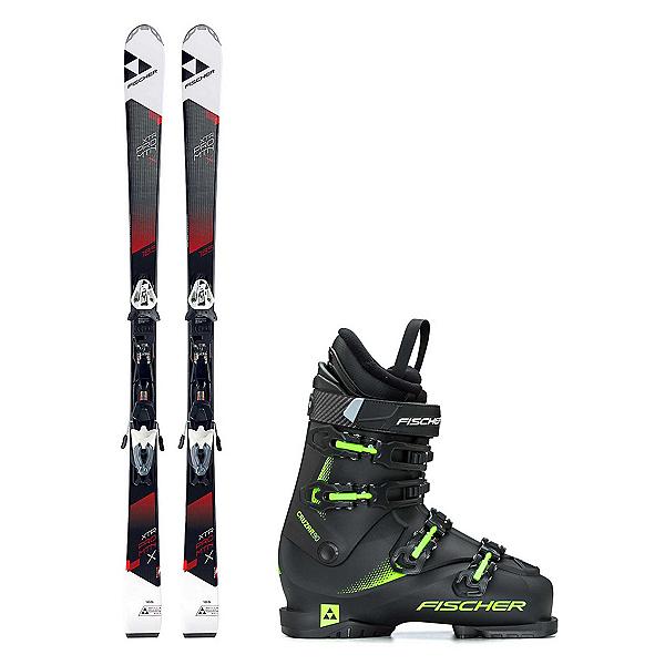Fischer XTR Pro MTN X RT Cruzar 90 TS Ski Package, , 600