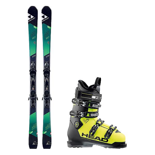 Fischer XTR Pro MTN 80 RT Advant Edge 85 HT Ski Package 2018, , 600