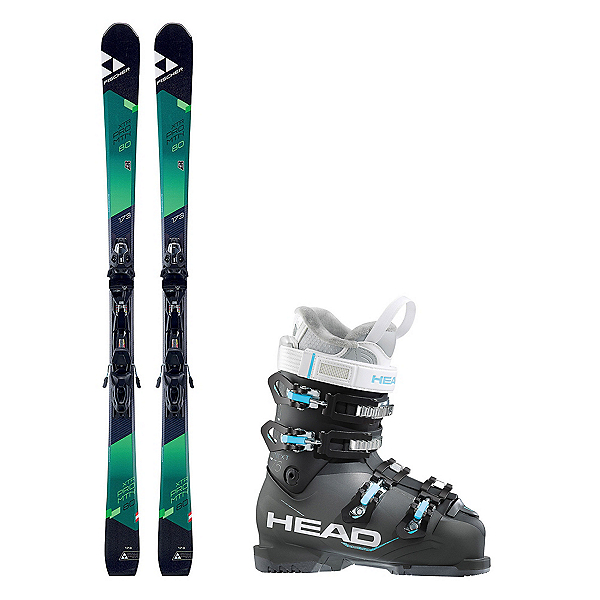 Fischer XTR Pro MTN 80 RT Next Edge 75 HT Ski Package, , 600