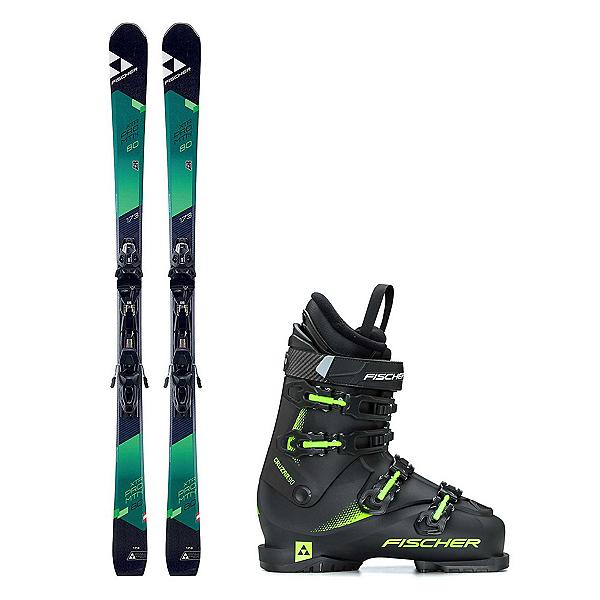 Fischer XTR Pro MTN 80 RT Cruzar 90 TS Ski Package 2018, , 600