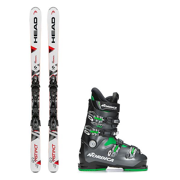 Head Instinct 83 R Sportmachine 80 Ski Package, , 600