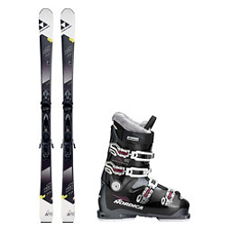 Fischer XTR Pro MTN 77 RT Sportmachine 65 Womens Ski Package, , 256