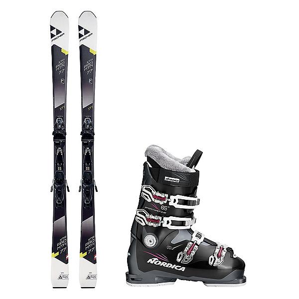 Fischer XTR Pro MTN 77 RT Sportmachine 65 Womens Ski Package 2018, , 600