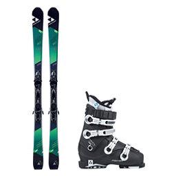 Fischer XTR Pro MTN 80 RT Cruzar 70 XTR TS Womens Ski Package 2018, , 256