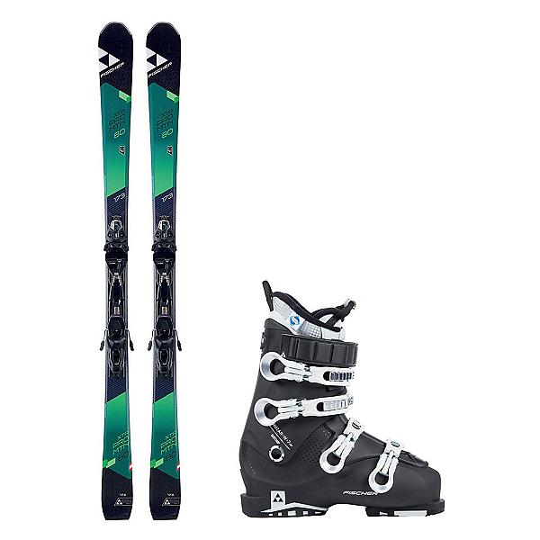 Fischer XTR Pro MTN 80 RT Cruzar 70 XTR TS Womens Ski Package 2018, , 600
