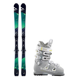 Fischer XTR Pro MTN 80 RT Advant Edge 75 HT Womens Ski Package, , 256