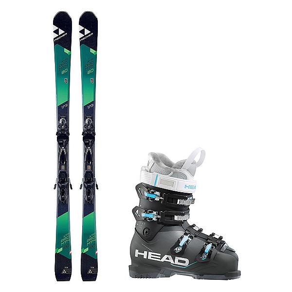 Fischer XTR Pro MTN 80 RT Next Edge 75 HT Womens Ski Package 2018, , 600