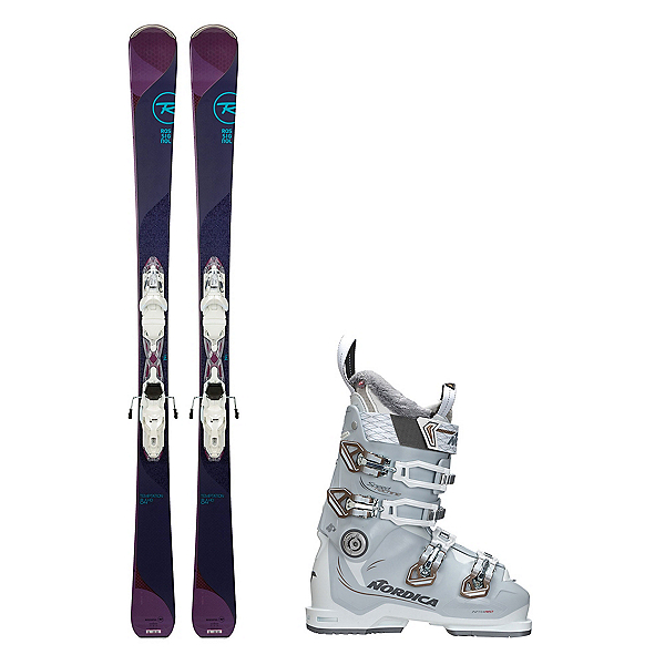 Rossignol Temptation 84 HD Speedmachine 85 Womens Ski Package 2018, , 600