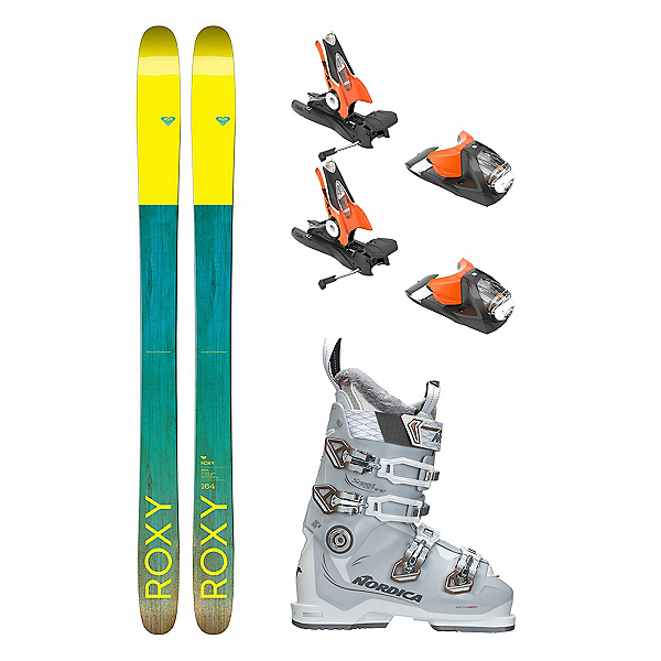 Roxy Shima 96 Speedmachine 85 Womens Ski Package, , 600