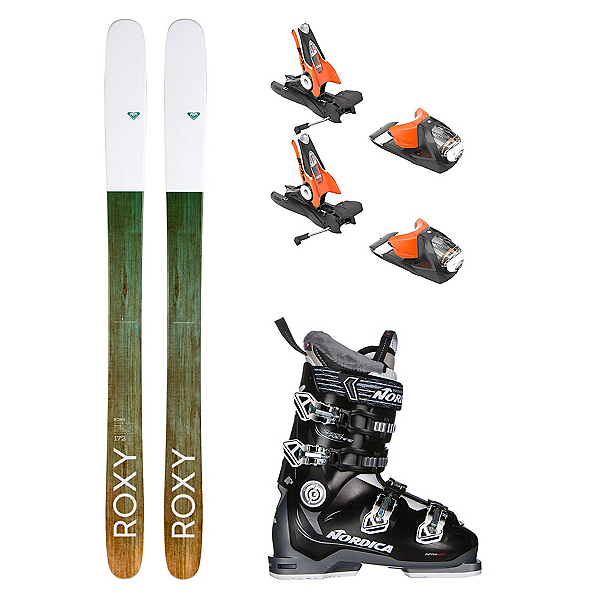 Roxy Shima 106 Speedmachine 85 Womens Ski Package, , 600