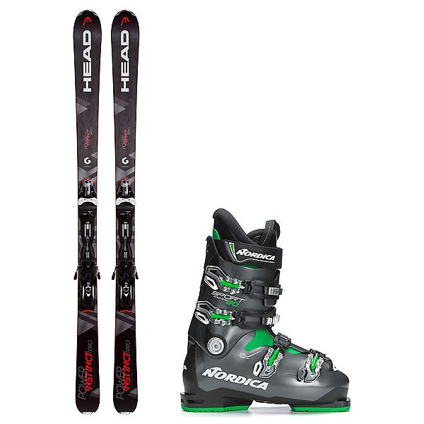 Head Power Instinct SW Ti Pro Sportmachine 80 Ski Package, , 600