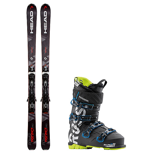 Head Power Instinct SW Ti Pro AllTrack Pro 100 Ski Package 2018, , 600