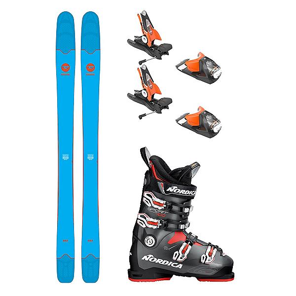 Rossignol Sin 7 Sportmachine 100 Ski Package 2018, , 600