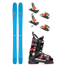 Rossignol Sin 7 Speedmachine 100 Ski Package, , 256