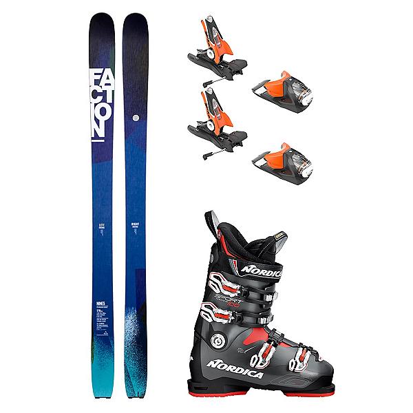 Faction Nine5 Sportmachine 100 Ski Package 2018, , 600
