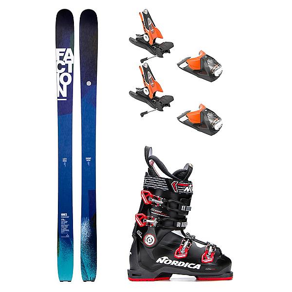Faction Faction Nine5 Speedmachine 100 Ski Package, , 600
