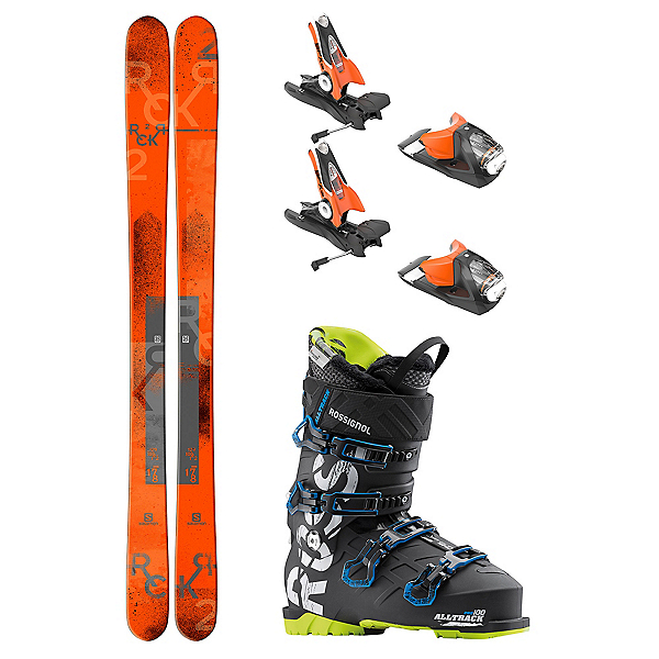 Salomon Rocker2 100 AllTrack Pro 100 Ski Package 2018, , 600