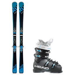 Rossignol Experience 77 BA Next Edge 75 HT Ski Package 2018, , 256