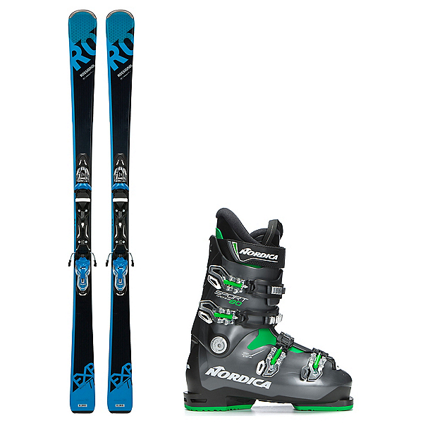 Rossignol Experience 77 BA Sportmachine 80 Ski Package, , 600