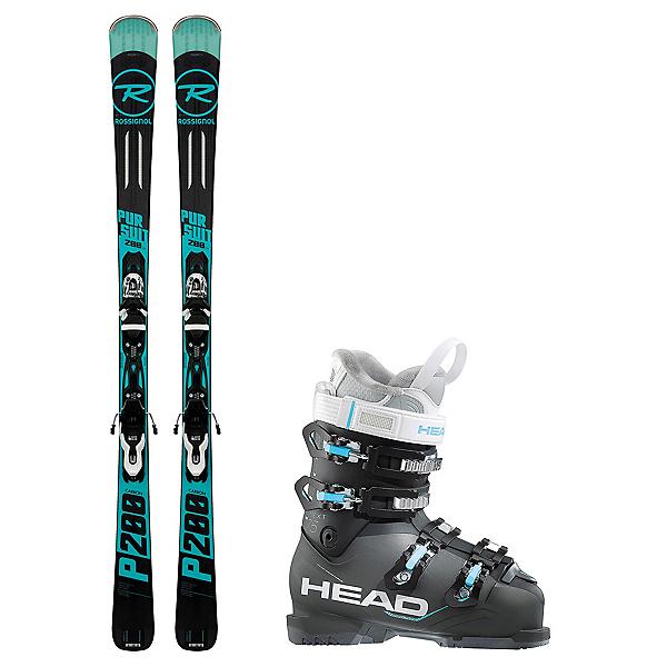 Rossignol Pursuit 200 Carbon Next Edge 75 HT Ski Package 2018, , 600