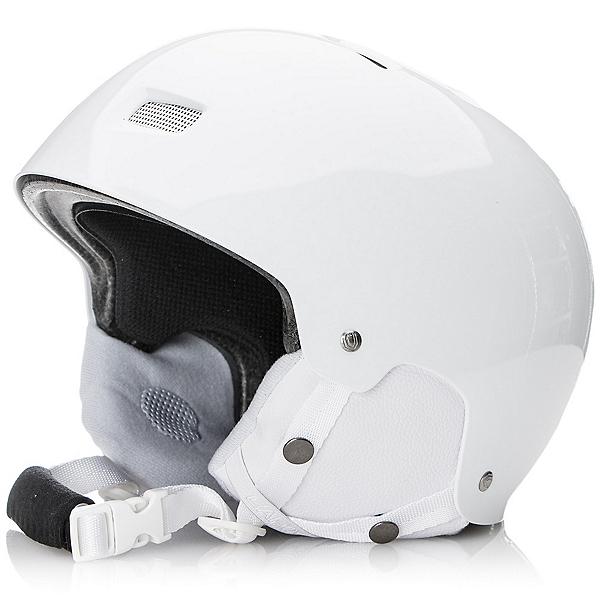 Capix Gambler Helmet, White White Ear Pads, 600