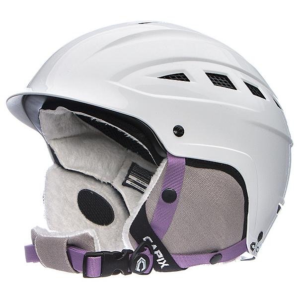 Capix Gambler Womens Helmet, Gloss White, 600